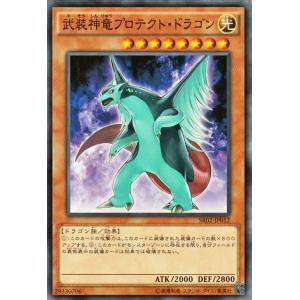 遊戯王 巨神竜復活 武装神竜プロテクト・ドラゴン SR02-JP012|card-museum