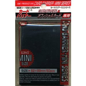 KMC カードバリアーミニ ブラック|card-museum