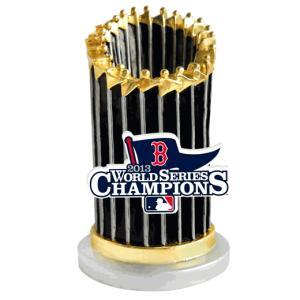 ボストン・レッドソックス MLB2013ワールドシリーズ優勝記念トロフィー・ペーパーウェイト / Red Sox 2013 World Series Champion Trophy Paper Weight|cardfanatic