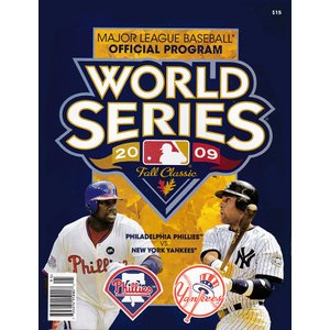 (セール)2009 ワールドシリーズ・オフィシャルプログラム / 2009 World Series Official Program|cardfanatic
