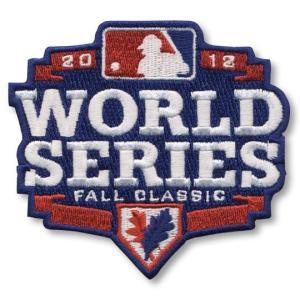 MLB 2012 ワールドシリーズロゴパッチ / 2012 World Series Logo Patch|cardfanatic