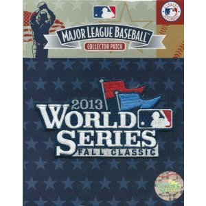 MLB 2013 ワールドシリーズ ロゴパッチ / 2013 World Series Logo Patch|cardfanatic