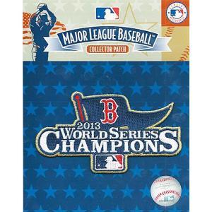 ボストン・レッドソックス MLB 2013 ワールドシリーズ 優勝記念 ゴールドロゴパッチ / Boston Red Sox 2013 WS Gold Champions Patch|cardfanatic