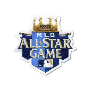 MLB 2012 オールスターゲームロゴパッチ / 2012 All Star Game Logo Patch|cardfanatic