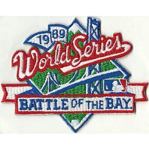MLB 1989 ワールドシリーズロゴパッチ Battle of The Bay / World Series|cardfanatic