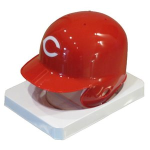 Riddell シンシナティ・レッズ クーパーズタウン レプリカミニヘルメット / MLB Cincinnati Reds Cooperstown Replica Mini Helmet|cardfanatic