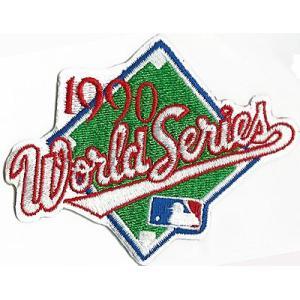 MLB 1990 ワールドシリーズロゴパッチ / World Series|cardfanatic