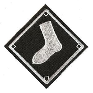 シカゴ・ホワイトソックス ロードジャージ ロゴパッチ / Chicago White Sox Logo Patch|cardfanatic