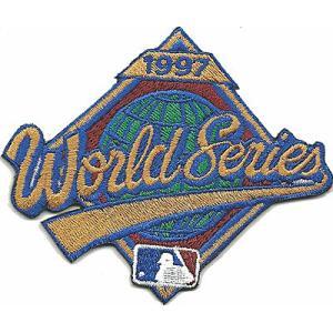 MLB 1997 ワールドシリーズロゴパッチ / World Series|cardfanatic