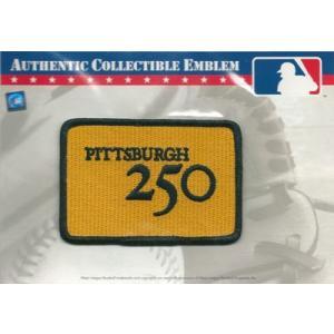 2008年 ピッツバーグ250年記念ロゴパッチ
