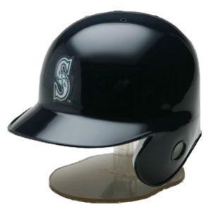 Riddell シアトル・マリナーズ レプリカミニヘルメット / MLB Seattle Mariners Replica Mini Helmet|cardfanatic