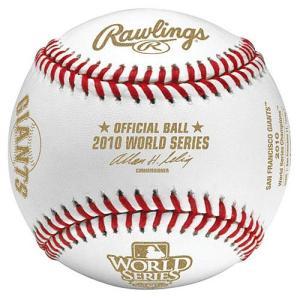 MLBボール サンフランシスコ・ジャイアンツ MLB 2010 ワールドシリーズ優勝記念ボール / Rawlings