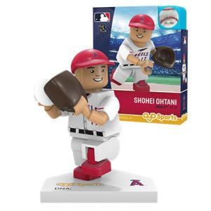 大谷翔平 ミニフィギュア ロサンゼルス・エンゼルス(ピッチング/ホワイト)OYO Baseball Minifigure (Shohei Ohtani: Los Angeles Angels of Anaheim)