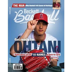 (MLBベケット) MLB Beckett Plus #146 2018年 5月号 3/27入荷!大谷翔平選手表紙!