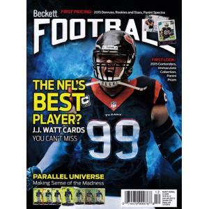 (NFLベケット) NFL Beckett Plus #299 2015年 12月号|cardfanatic