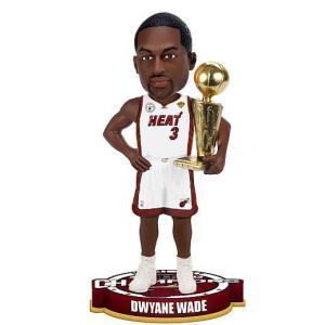 ドウェイン・ウェイド 12/13 NBAファイナル優勝記念 フォーエバー ボブルヘッド / Dwyane Wade