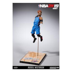 ラッセル・ウェストブルック NBA 2K19 Series 1 (サンダー/ブルー) / Russell Westbrook 12/10入荷!