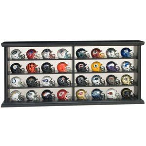 NFL ポケットサイズ ヘルメット 全32チームセット (木製ケース入り)|cardfanatic