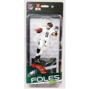(セール)ニック・フォールズ McFarlane NFL シリーズ35 (イーグルス / ホワイト / コレクターズレベル) 1000体限定! / Nick Foles マクファーレン