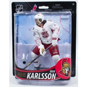 エリック・カールソン マクファーレン NHL フィギュア シリーズ33 (セネターズ ホワイト コレクターズレベル) 1500体限定! Erik Karlsson|cardfanatic