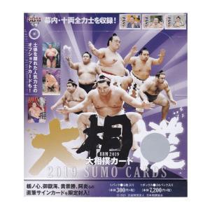 新年最初のトレカは2019年も大相撲カードです。今年も幕内・十両全力士をカード化。 2018年九州場...