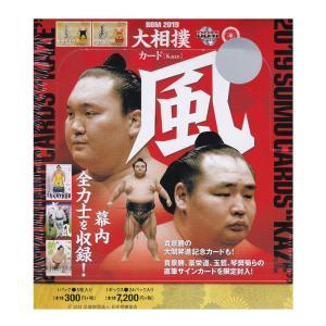 2019年の大相撲カード、第2弾のタイトルは「風」です。 ベテラン力士の貫録に息を飲む「威風」、 伸...
