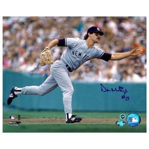 ドン・マッティングリー MLB オーセンティック直筆サイン入り8x10フォト / Don Mattingly|cardfanatic