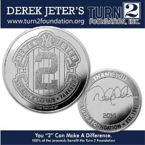 (セール)The Highland Mint (ハイランドミント) デレク・ジーター ファイナルシーズンコイン Derek Jeter Final Season Foundation Coin|cardfanatic