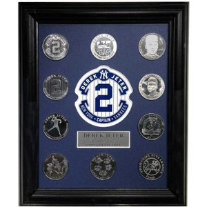 The Highland Mint (ハイランドミント) デレク・ジーター ファイナルシーズンコイン セット Derek Jeter Final Season Coin Set|cardfanatic