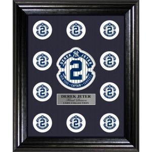 The Highland Mint (ハイランドミント) デレク・ジーター ファイナルシーズンコイン ディスプレイ用フレーム Derek Jeter Final Season Coin Collection Display|cardfanatic