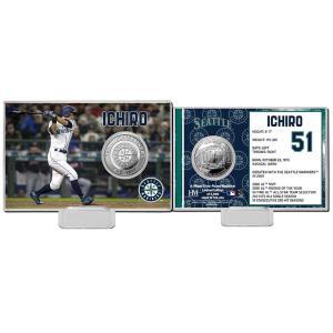 (予約)The Highland Mint (ハイランドミント) イチロー シアトル・マリナーズ シルバーコインカード (Ichiro Suzuki Silver Coin Card) 4月下旬入荷予定!