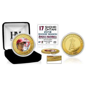 (予約)The Highland Mint (ハイランドミント) 大谷翔平 ロサンゼルス・エンゼルス MLBルーキーシーズンゴールドコイン 5月下旬入荷予定!