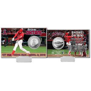 The Highland Mint (ハイランドミント) 大谷翔平 ロサンゼルス・エンゼルス MLB初ホームランシルバーコインカード