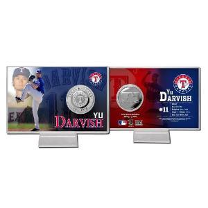 The Highland Mint (ハイランドミント) ダルビッシュ有 MLB 2012 スプリング・トレーニング コインカード Yu Darvish Spring Treining Silver Coin Card|cardfanatic