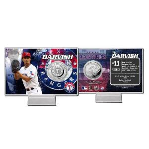 The Highland Mint (ハイランドミント) ダルビッシュ有 MLB 2013 シルバーコインカード 2013 Yu Darvish Silver Coin Card|cardfanatic