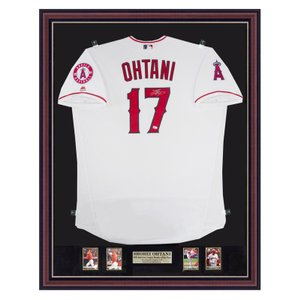 Autograped Angels Authentic Jersey - 2018 Home, Wh...