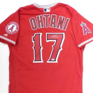 大谷翔平 直筆サイン入り エンゼルス オーセンティック ユニフォーム レッド / Shohei Ohtani Autographed Angels Authentic Jersey Red