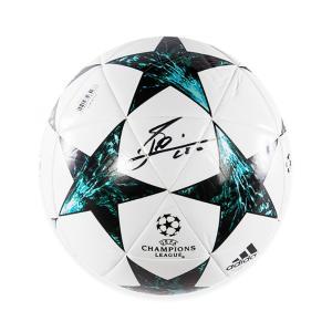 リオネル・メッシ 直筆サイン入りサッカーボール (Lionel Messi Official Signed 2017-18 UEFA Champions League Football)|cardfanatic