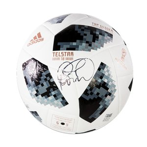 フェリペ・コウチーニョ 直筆サイン入りサッカーボール (Philippe Coutinho Signed 2018 FIFA World Cup Telstar 18 Football)