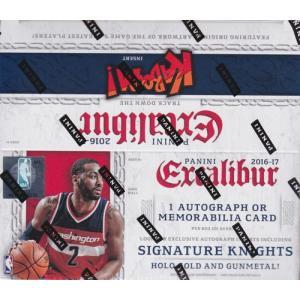 NBA 2016-17 Panini Excalibur Basketball Retail ボックス(Box)|cardfanatic