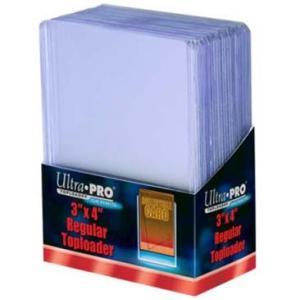 (ウルトラプロ UltraPro 収集用品)トップローダー レギュラー (クリア) 1枚単位 (#81222)