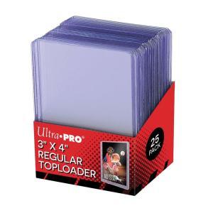 (ウルトラプロ UltraPro 収集用品) トップローダー レギュラー (クリア) 25枚入りパック (#81222)|cardfanatic