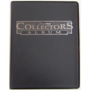 (ウルトラプロ UltraPro 収集用品) 9ポケット ポートフォリオ コレクターズ (ブラック) (#81366)|cardfanatic