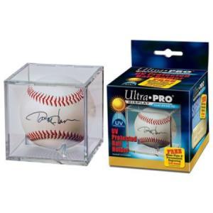 (ウルトラプロ UltraPro 収集用品) UVプロテクト ベースボールホルダー 10個単位 (#81528)|cardfanatic
