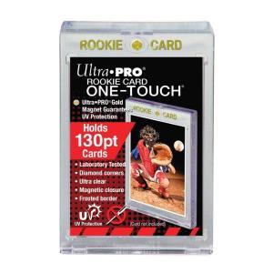 (ウルトラプロ UltraPro 収集用品) UVワンタッチマグネットホルダー ルーキーカード 130PT 3.5mm厚 UV (#82310)