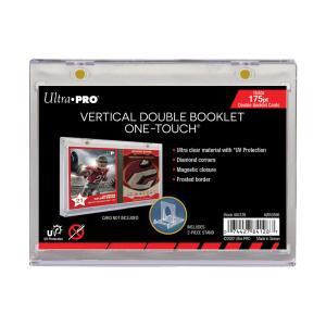 (ウルトラプロ UltraPro 収集用品) 縦型ブックレットカード用UVワンタッチマグネットホルダー #84128 6mm厚 (可動式スタンド付属)