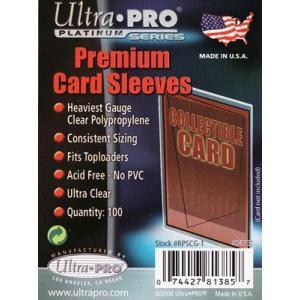 (ウルトラプロ UltraPro 収集用品) カードスリーブ プラチナム (UP-81385)|cardfanatic