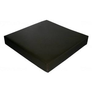 ウェルファン夢ごこちクッション合皮レザータイプ ブラック 40|careshop-lincle