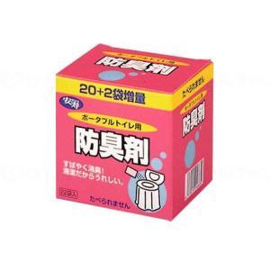 アロン化成ポータブルトイレ用防臭剤22 22包(1袋6g)|careshop-lincle