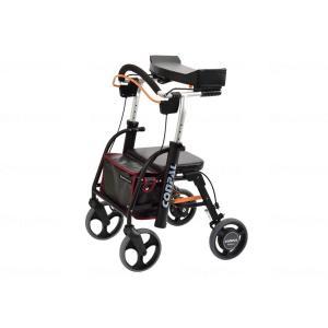 抑速ブレーキ付前腕支持型歩行車 コンパルリハモ/ライトパープル/-|careshop-lincle